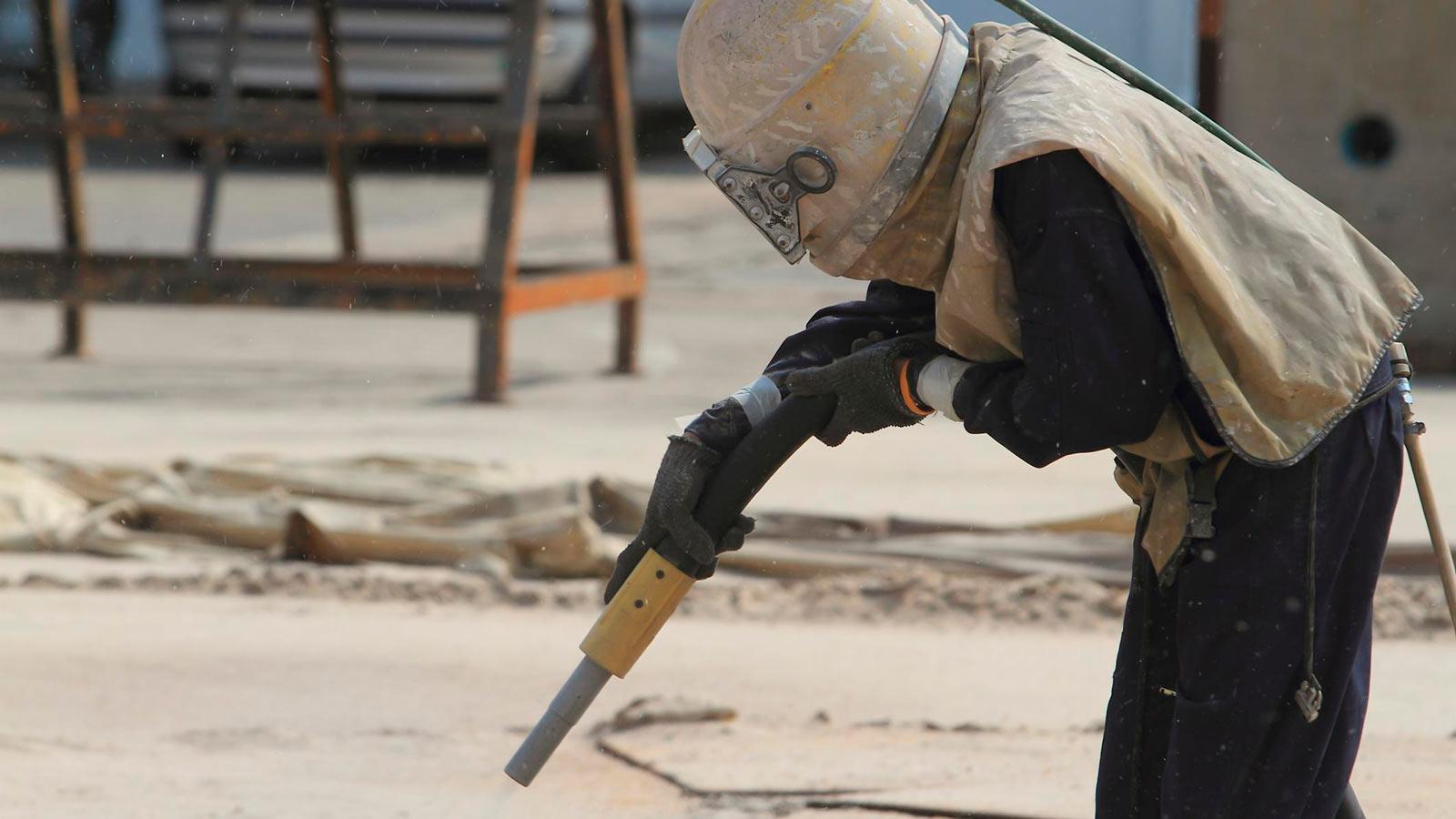 Где применяется пескоструйная обработка