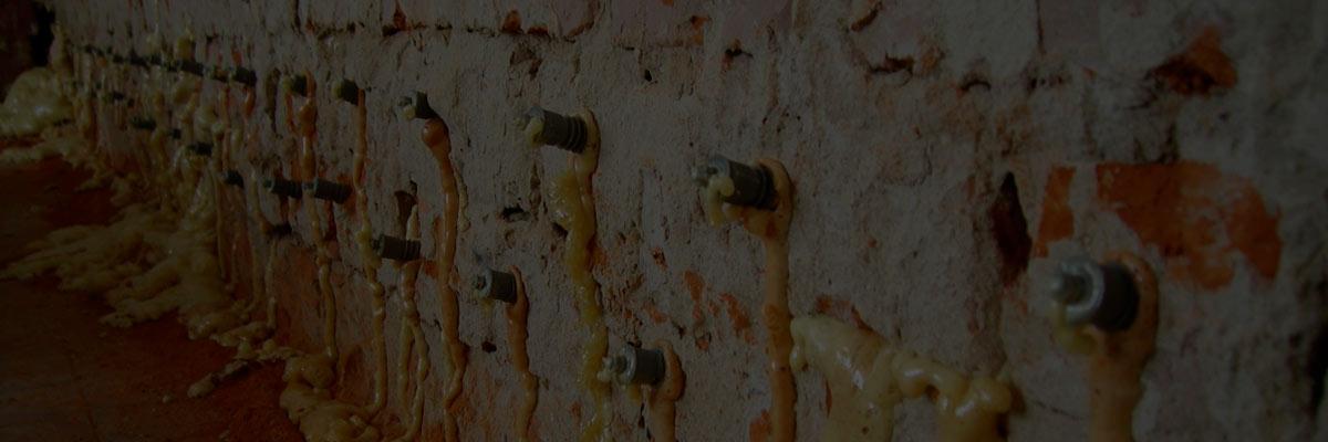 Инъектирование бетонных и кирпичных поверхностей